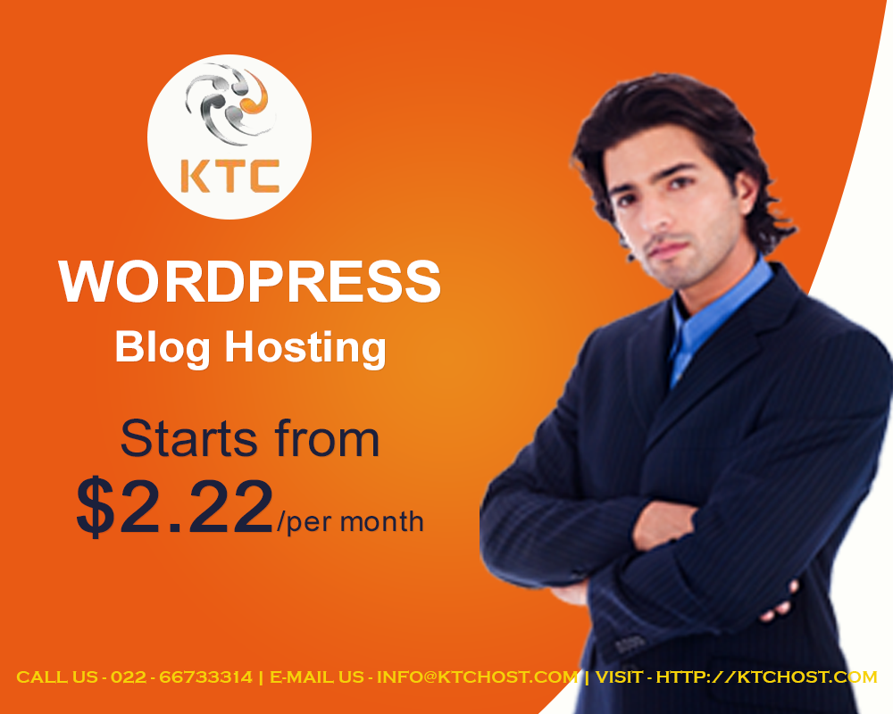 KTCHost Wordpress Blog Hosing