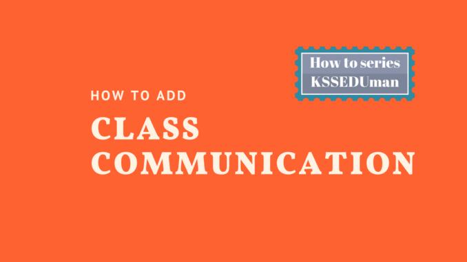 class communication